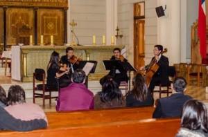 Cuarteto de Cuerdas a la Chilena en Catedral