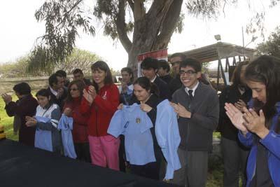 Alumnos de la escuela especial e 77 iniciaron su pasant a for Vivero antofagasta