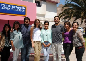 Equipo de profesionales que estará a cargo de Programa AMA en Antofagasta.