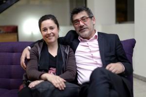 Directora Regional, Carla Redlich y agregado cultural de Chile en Lima, Jorge Moreno