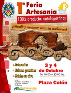 afiche fomento 1 feria artesania